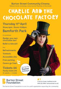 Charlie and the Chocolate factory Flyer A5