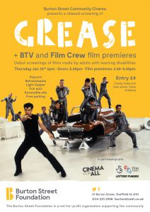Grease Flyer A5 Flyer Screen