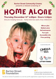 Home Alone Flyer A5 Screen