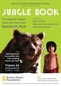 Jungle Book Flyer A5 screen